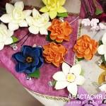 Цветы из глины, Новокузнецк.