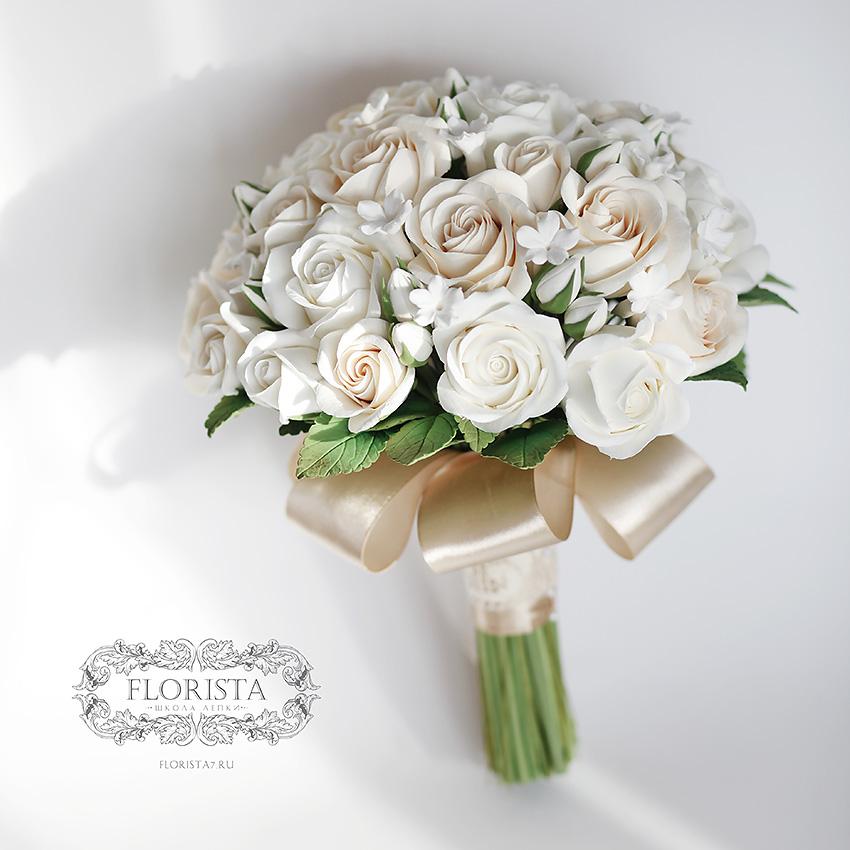 Букет невесты в красно золотых тонах, фото свадебных букетов в красном цвете