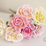 Цветы и скульптура из японской глины decoclay