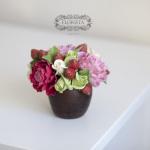 Лютики, Цветы и подарки из японской глины decoclay
