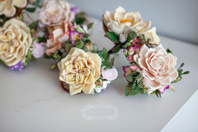 Букет подружки невесты.