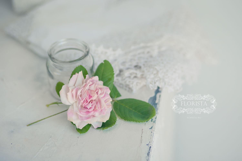 Роза ручная работа