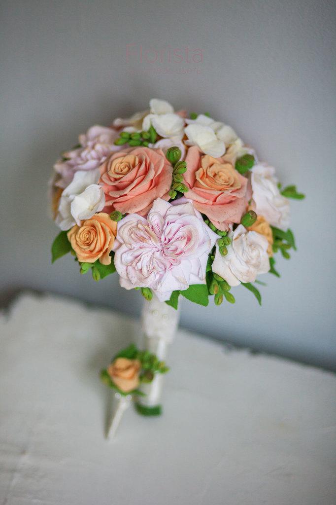 Букет невесты Новокузнецк ручная работа
